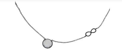 Серебряное колье Бронницкого ювелирного завода стоимостью 2556 рублей
