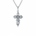 Женский православный крест из плати