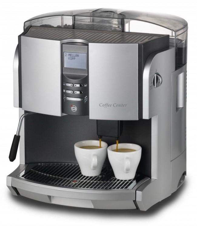 Кофемашина с серебряным покрытием
